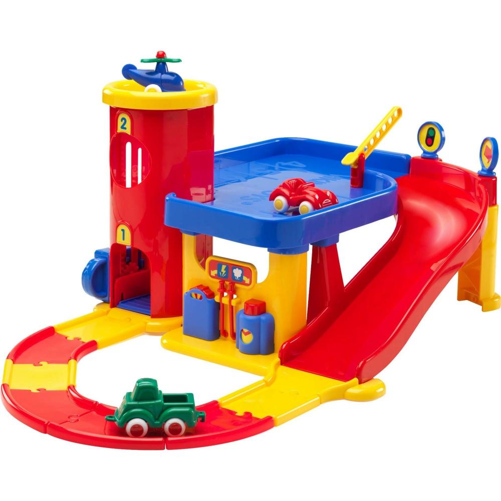 瑞典Viking Toys維京玩具-車庫組(小)