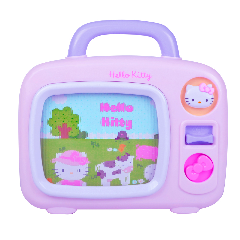 Hello Kitty 造型音樂電視機