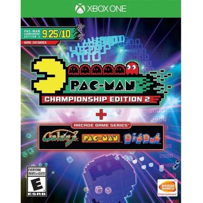 小精靈 世界冠軍賽紀念版 2 + 大型電玩系列 Pac-Man-XBOX ONE 英文美版