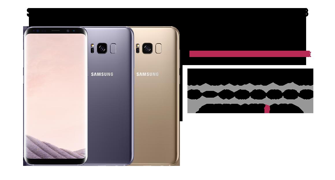 SAMSUNG Galaxy S8 解放你的手機 新一代無邊際螢幕 預購期間:4/17-4/25