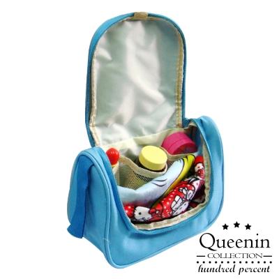 DF Queenin - 韓版旅行隨身盥洗小包-共3色