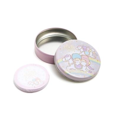 Sanrio 雙星仙子40週年快樂紀念日系列迷你圓形便條紙附罐(彩虹木馬)