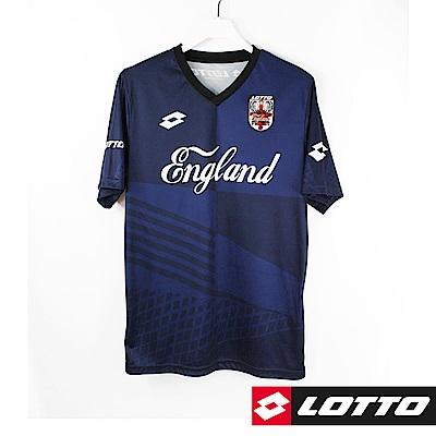 LOTTO 義大利 世足盃國家隊紀念T恤(英格蘭)-丈青