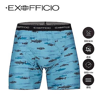 【美國 EXOFFICIO 】超彈性印花貼身平口褲5.5吋(2件組)