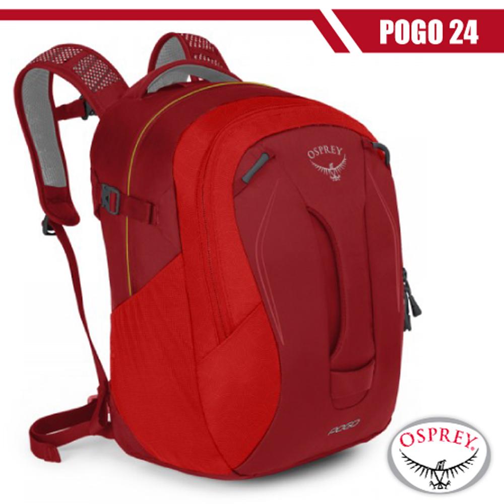 【美國 OSPREY】新款 Pogo 24L 專業多功能後背包_賽車紅 R