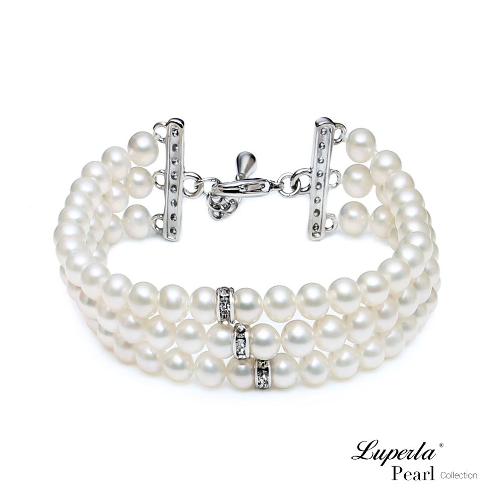 大東山珠寶 淡水珍珠手鍊 璀璨時光 婚禮珍珠系列
