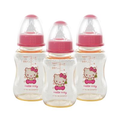 Hello Kitty PES標準奶瓶3支(150ml)
