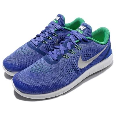 Nike 慢跑鞋 Free RN GS 女鞋 童鞋