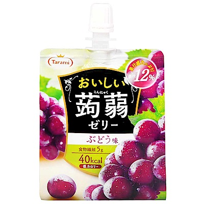 Tarami達樂美 果凍飲便利包-葡萄(150g)