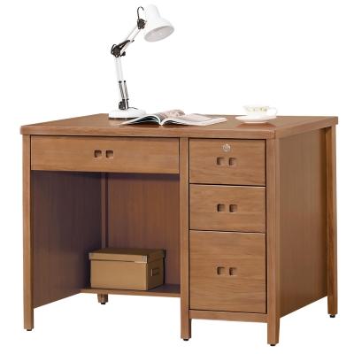 時尚屋 香杉美檜<b>3</b>.<b>5</b>尺書桌 寬106cm