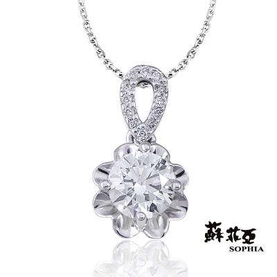 蘇菲亞SOPHIA-鑽石項鍊-幸福捧花0-30克F