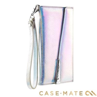 美國 Case-Mate iPhone X 真皮質感手拿包風格手機殼 - 彩虹