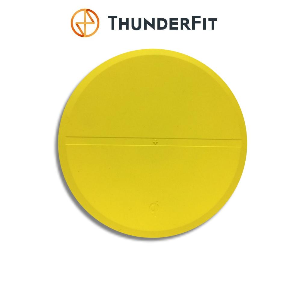ThunderFit 超薄Qi無線充電器(時尚黃)