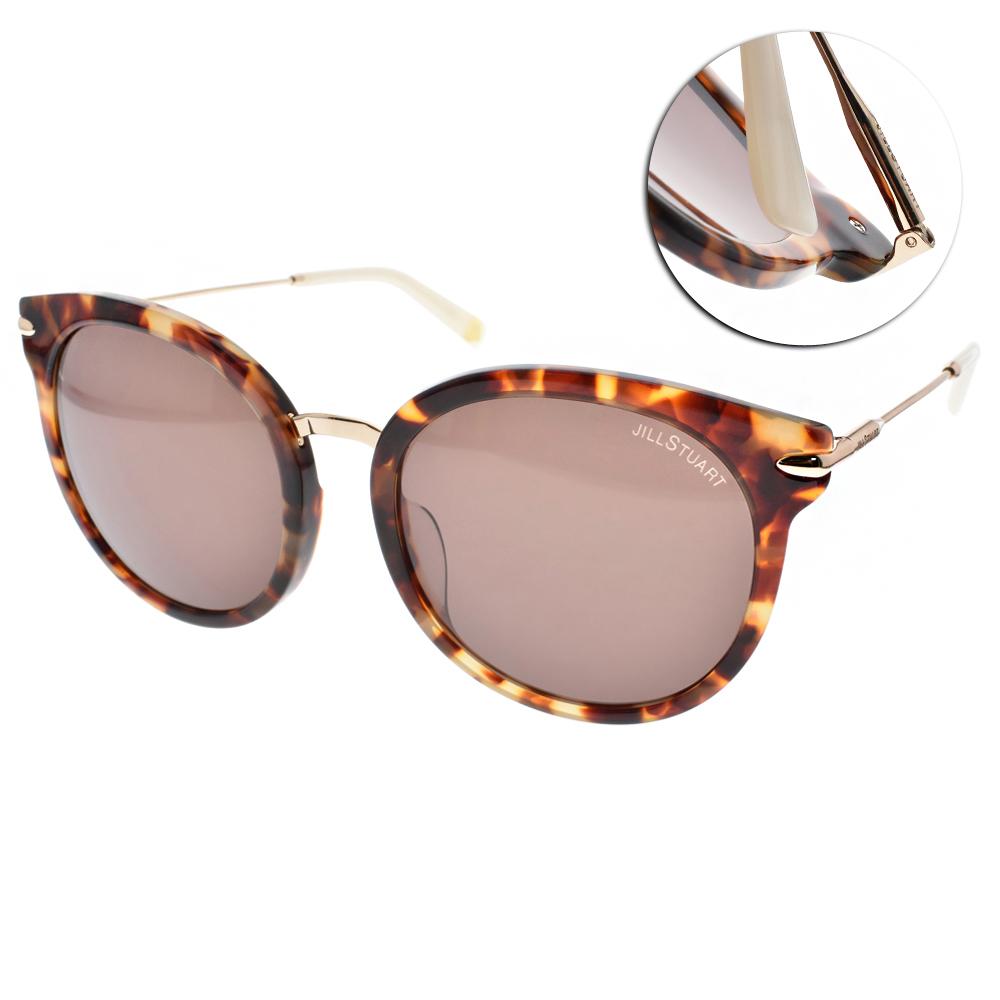 JILL STUART太陽眼鏡 簡約貓眼/玳瑁金-棕鏡片#JS58006 C03A