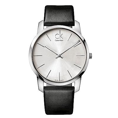 CK CALVIN KLEIN City 都會系列知性手錶-43mm