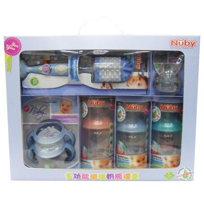 Nuby 多功能玻璃奶瓶禮盒