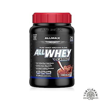 加拿大ALLMAX奧美仕ALLWHEY CLASSIC經典乳清蛋白巧克力口味1瓶(907公