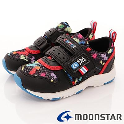 日本Carrot機能童鞋-輕量速乾運動款TW17534黑(中小童段)T