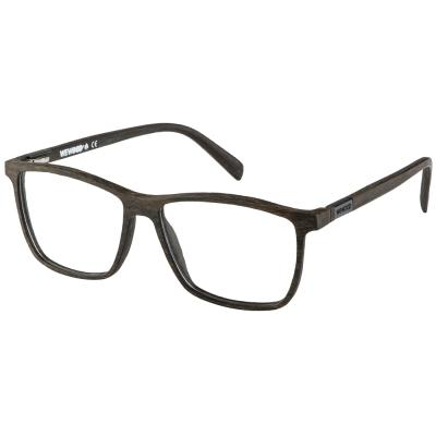 WEWOOD 義大利平光眼鏡 MILANO WENGE 鐵刀木色