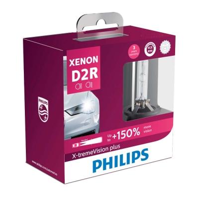 PHILIPS 飛利浦HID 4800K 氙氣車燈-增亮150%(D2R兩入裝)公司貨