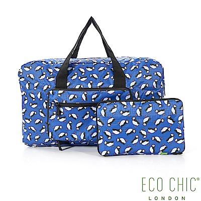英國ECO CHIC折疊時尚旅行袋-企鵝