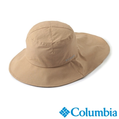 【Columbia哥倫比亞】男女-日版酷涼快排防曬帽-卡其色 UPU52750KI