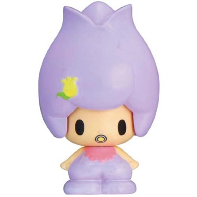 任選滿額499出貨-可愛達-紫鬱金弟弟-變臉玩偶