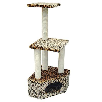 派斯威特-跳台世家貓跳台 三層五角山洞