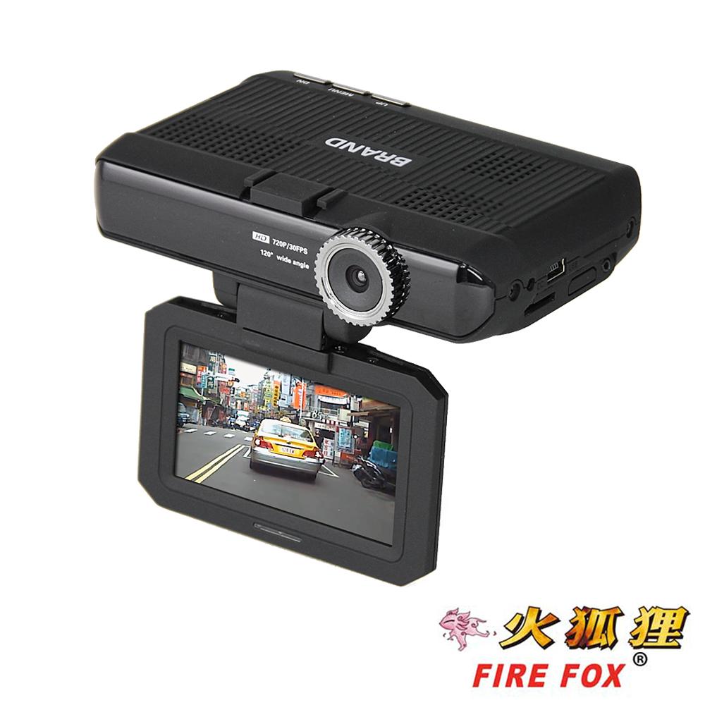 火狐狸 PT-580 三合一GPS行車雷達記錄器