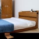 H&D DIGNITAS狄尼塔斯房間組柚木色5尺-2件組