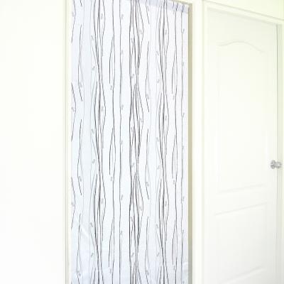 布安於室-琉袖遮光風水簾-灰色