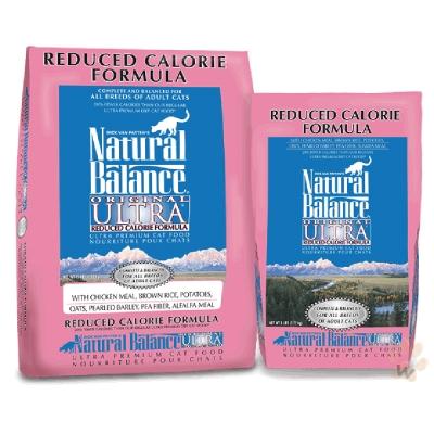 Natural Balance 特級低卡配方貓糧6磅