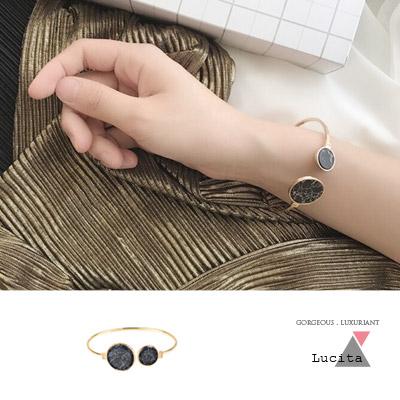 LuciTA  時尚空運新款 歐美風潮大理石紋手環