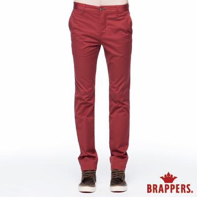 BRAPPERS 男款 HC Cargo系列-彈性直筒褲-磚紅