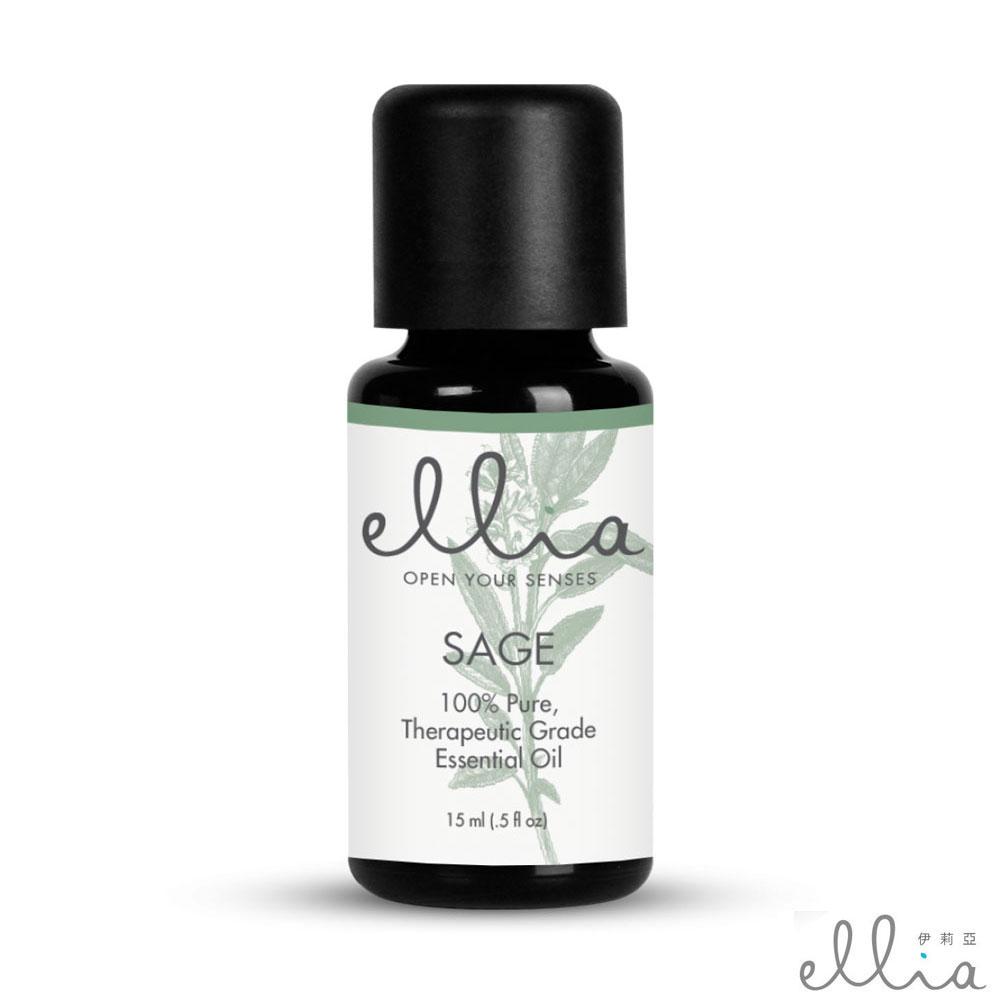 美國 ELLIA 伊莉亞 Sage 鼠尾草精油 (15ml)