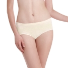LADY 超彈力親膚無痕系列 中腰低衩三角褲(黃色)
