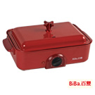 BiBa百變日式燒烤爐GP-302紅