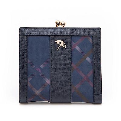 Arnold Palmer- 口金短夾 Bag&Bear B & B 系列-藍色