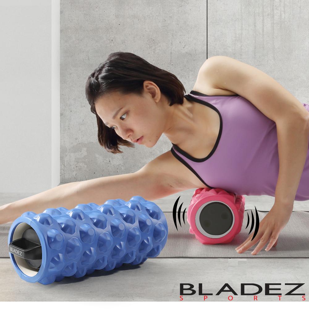 【BLADEZ】MR1摩動輪3速震動滾筒-藍色