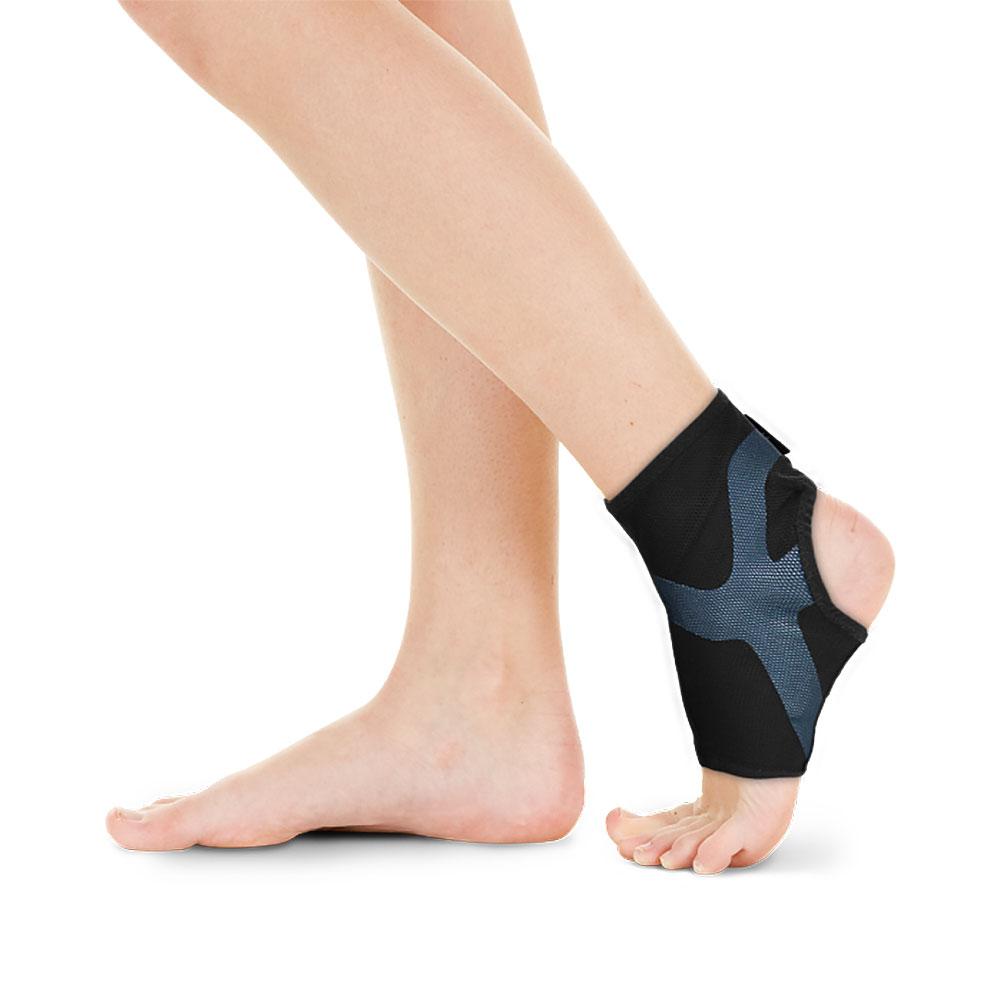 BodyVine巴迪蔓 超肌感貼紮護踝 (可調整式)-強效加壓