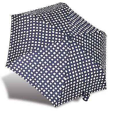RAINSTORY方塊格紋抗UV輕細口紅傘