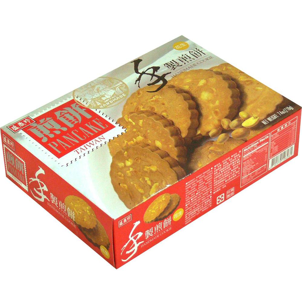 盛香珍 手製花生煎餅 (210g)