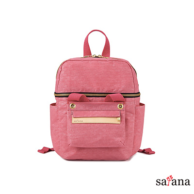 satana -Soldier 豐富日常可拆式後背包 - 歡喜玫瑰