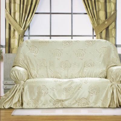 布安於室-富貴花DIY3人座沙發罩