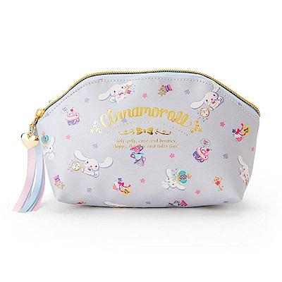 Sanrio 大耳狗喜拿幸福女孩系列第二彈PU皮革筆袋/化妝包(幸福午茶)