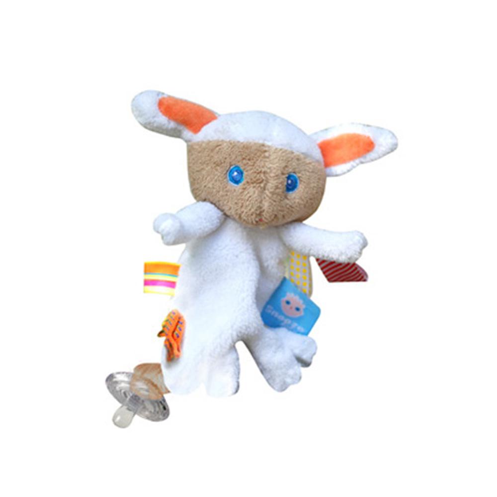荷蘭Snoozebaby小綿羊Mak奶嘴鍊標籤玩偶