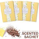 【超值4入】kiret 可掛式香氛 香包 香薰袋-茉莉款-衣櫃防黴防蟲除臭