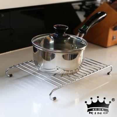 king高級不鏽鋼隔熱鍋墊