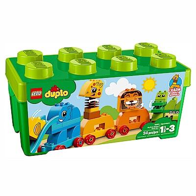 2018 樂高LEGO Duplo 幼兒系列 - LT10863 我的第一個動物顆粒盒