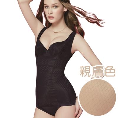 思薇爾 舒曼曲現系列M-XL修飾型半身束衣(親膚色)